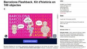 Barcelona Flashback. History Kit in 100 Objects (Museum of the History of Barcelona)